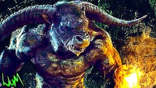 Percy Jackson Minotaur Fight Scene