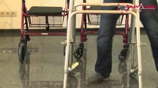 видео Ходунки с подмышечной опорой