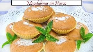 Magdalenas Caseras Sin Huevo Receta De Cocina En Familia Youtube