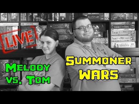 Tom Vs. Melody:  Summoner Wars