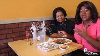 Dining Out With Comedienne Joy highlighting Johnny Ray's Apple Dumpling J.Cylde