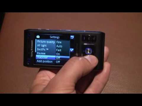 Esato view on Sony Ericsson C905 Cyber-shot
