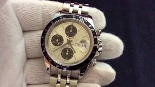 Tudor Tiger Prince Date 79260P Automatic Chrono Time great condition
