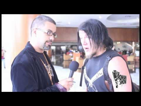 The Roman Show at Wrestle Reunion Interview Dragon Gate Supe