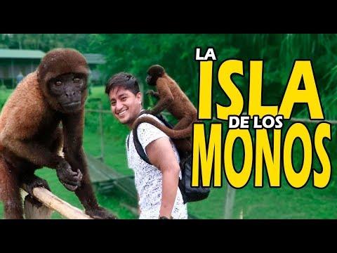 LA ISLA DE LOS MONOS | IQUITOS PERU | Cesar Andre 🐒