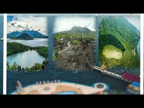 #ternate-#gamalama-3-tourist-spots-in-ternate-that-are-formed-naturally