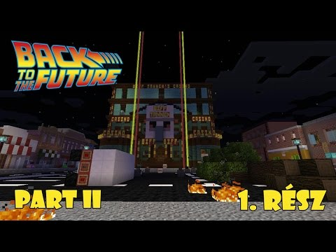 |Minecraft 1.8.9| Back To The Future Part II Kalandpálya - 1. rész