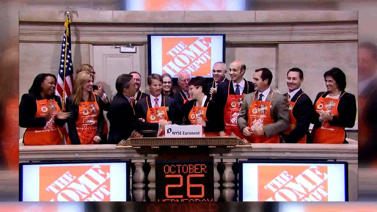26 October 2011 Home Depot Ob Rings The Nyse Opening Bell