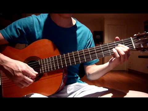 Open String Style Guitar Cover On D Crush David Archuleta Youtube