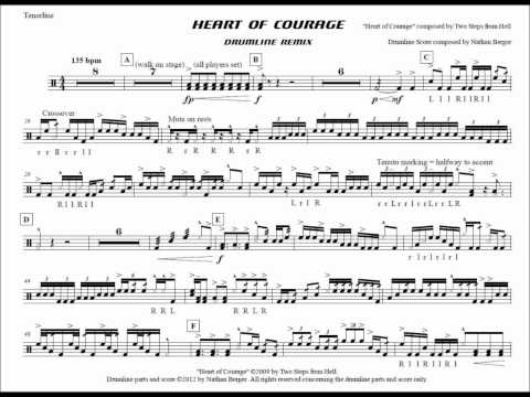 Heart Of Courage Drumline Remix