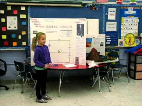 Science Fair Project - Electric Circuits - Anna is 7 ...