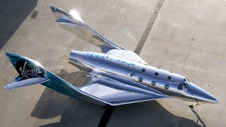 First look at Virgin Galactic's VSS Imagine spaceship