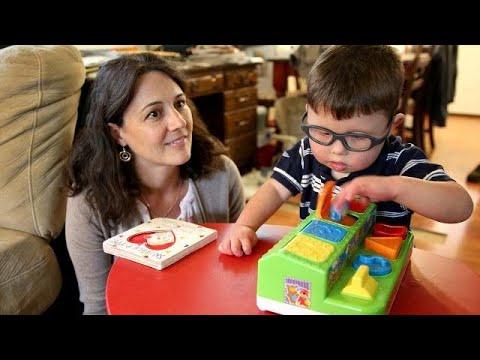 Preschooler races with peers thanks to unlikely friendship