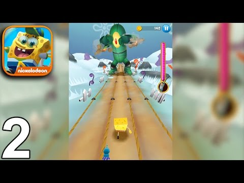 SPONGEBOB GAME STATION Walkthrough Gameplay Part 2 - Stage 2 (iOS Android)