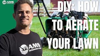 DIY: How to Aerate Your Lawn in Phoenix