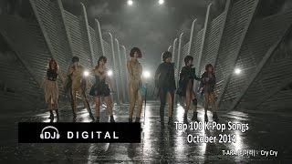 Top 100 K-Pop Songs For October 2014 (Month End Chart) Alt. Version