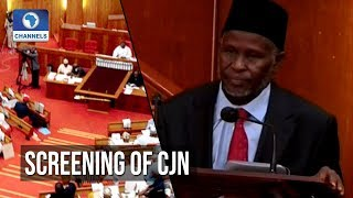 Senate Grills Justice Tanko Mohammed