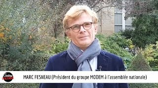 CASTING POLITIQUE : MARC FESNEAU (Président du groupe MODEM à l'assemblée nationale)
