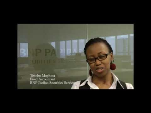 Teboho Maphosa speaks about the Investment Accounting Diploma