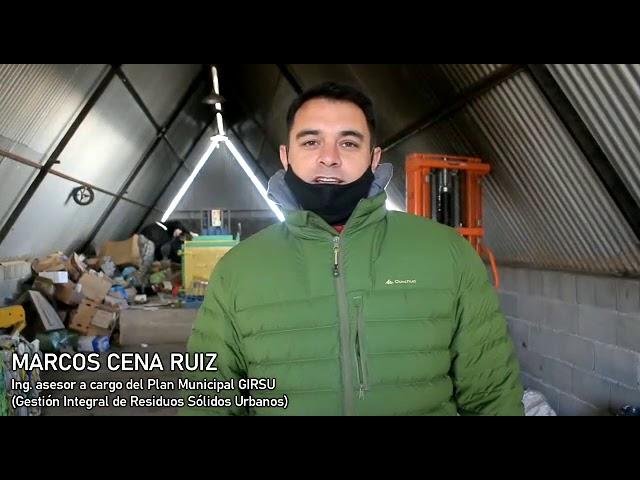 Reciclado en predio Conejeras La Cumbre