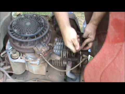 Craftsman YS4500 Lawnmower Routine Maintenance