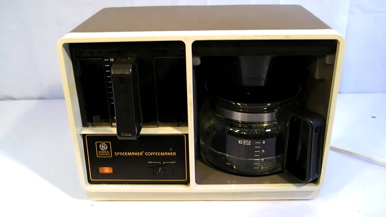 Beau GE / BLACK U0026 DECKER 10 CUP SPACEMAKER COFFEE MAKER   YouTube