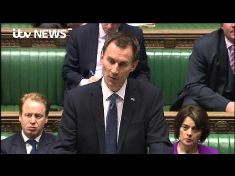 Jeremy Hunt announces new junior doctor contracts