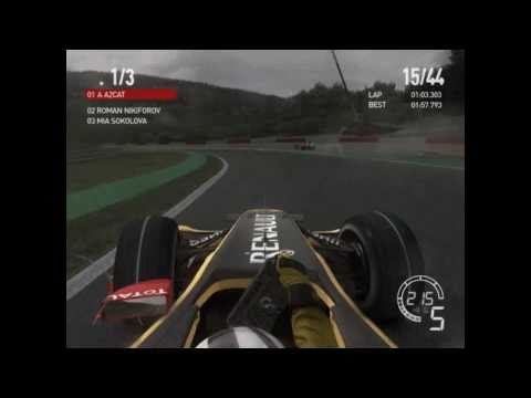 F1 2010 - ONLINE SPA 100% (BELGIUM, DYNAMIC WEATHER)