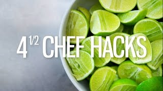 4 ½ Chef Hacks!