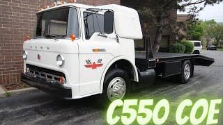 1967 Ford C550  COE Car Hauler  Ramp Truck  SOLD!
