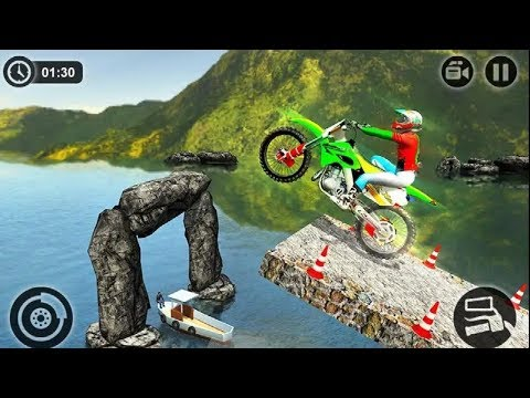 TRICKY MOTO BIKE MASTER GAME #Dirt Motorcycle Racing #Bike Games Android GamePlay #Games Download
