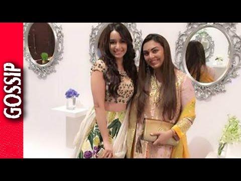 Shraddha Kapoor Danced At Friends Wedding - Bollywood Gossip 2017