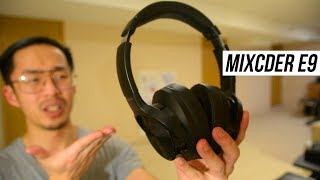 MIXCDER E9 Review (Best ANC Bluetooth Headphones?)