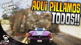 GTA 5 | AQUI PILLA TODO EL MUNDO!! - GTA V CARRERA DE LA MUERTE #611 | XxStratusxX