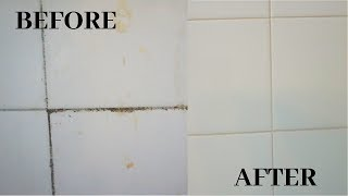 How To Remove Mold From Shower | Clean With Me