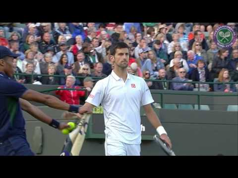 2016, Day 5 Highlights, Novak Djokovic vs Sam Querrey