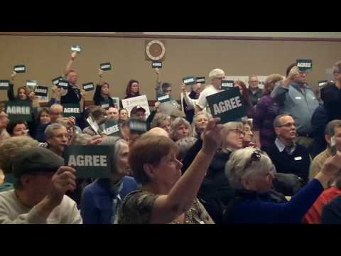 "Rep. Elise Stefanik ""no-show"" at NY Dist. 21 Constituent's Town Hall, Feb. 22, 2017"