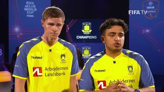 Brøndby eSport are the FIFA eClub World Cup 2018 Champions!