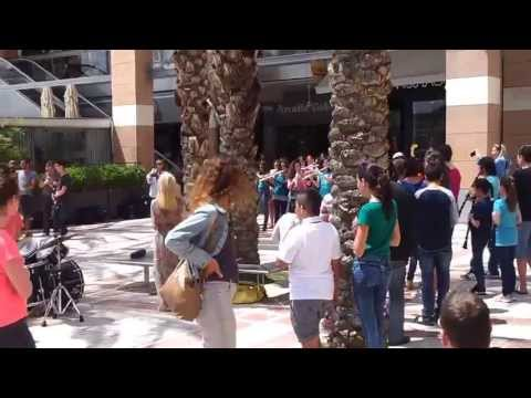 Flash Mob - Mamma Mia, Israel, Kfar-Saba (April 12 2013)