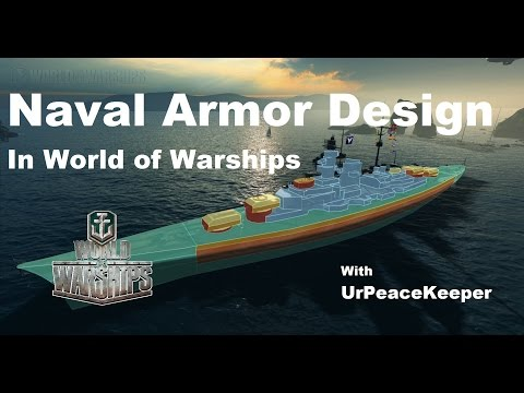 Naval Armor Design In World Of Warships