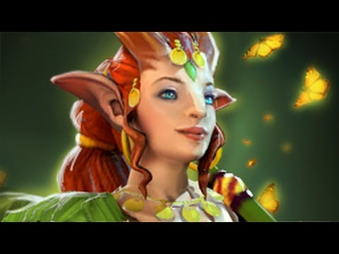 видео: [dota 2] Обзор героя - enchantress