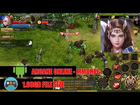 Free Download Arcane Online (MMORPG) APK For Android