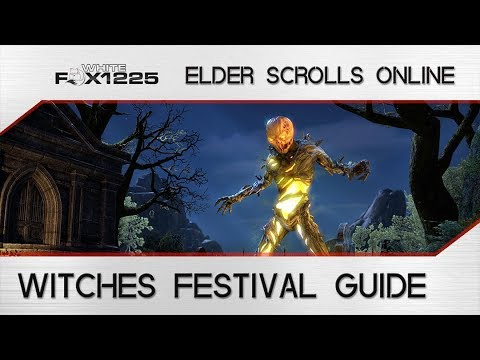 ESO: Witches Fest Guide! New Drops, Best Grind Spot, and more!