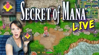 🔥Secret of Mana PS4 PRO Live Stream | Secret of Mana Gameplay PlayStation 4 Pro | TheGebs24