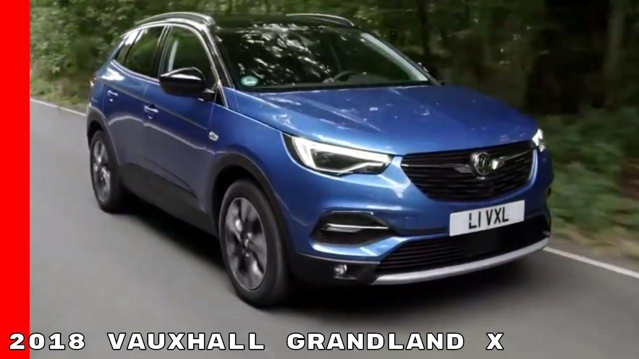 2018 Vauxhall Grandland X Drive Interior Youtube