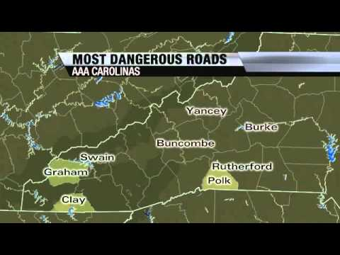 WNC Most Dangerous Roads