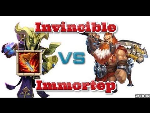 Castle Clash Invincible Immortep