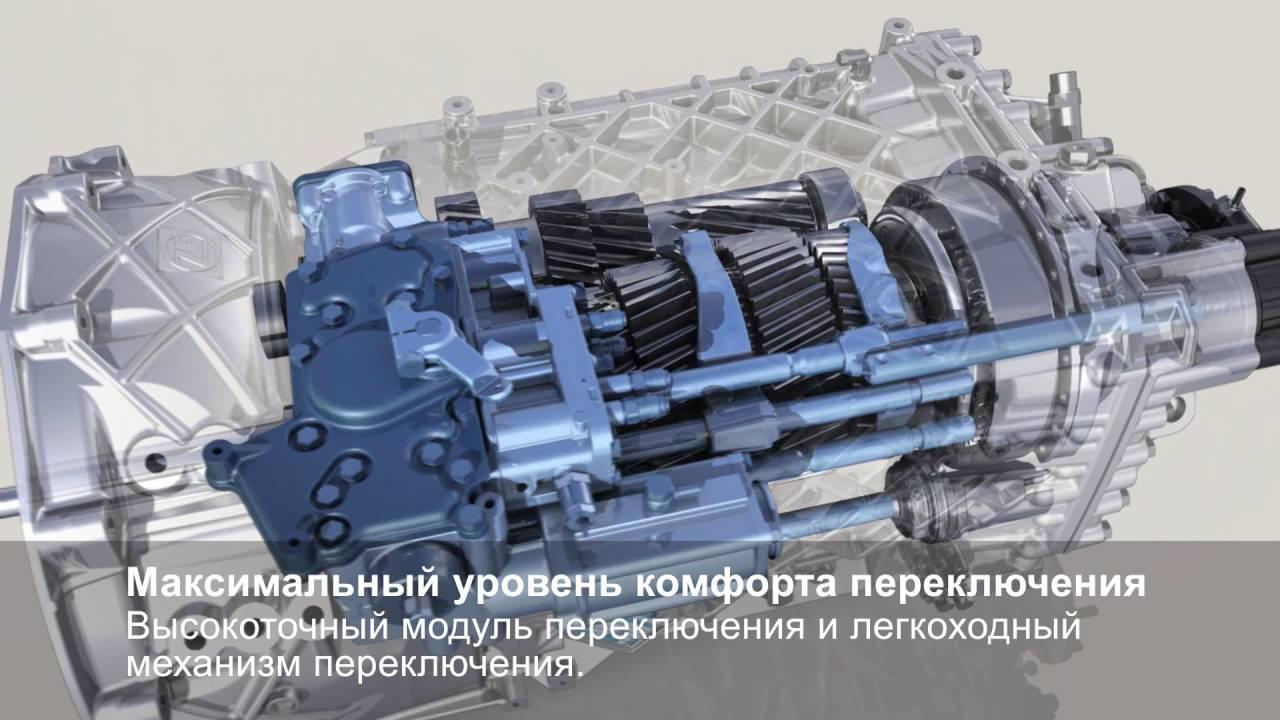 ZF EcoSplit ru - механическая коробка передач для современных грузовых автомобилей