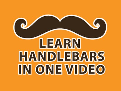 Handlebars Tutorial - YouTube