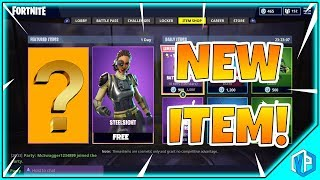 'NEW' Fortnite FREE SKIN: STEELSIGHT - 26 AVRIL ITEM SHOP RESET!